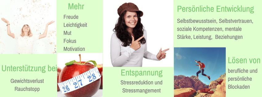 Hypnose, Erwachsene, Rapid Transformational Therapy, Gewichtsverlust, Stress, Selbstbewusstsein, Blockaden, Ängste, Motivation
